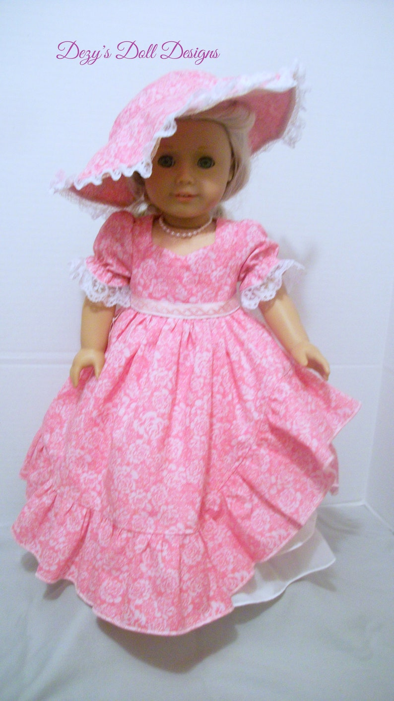 1ec8d5a25 1861 Southern Belle Dress 18 inch doll clothes 18 inch Dolls