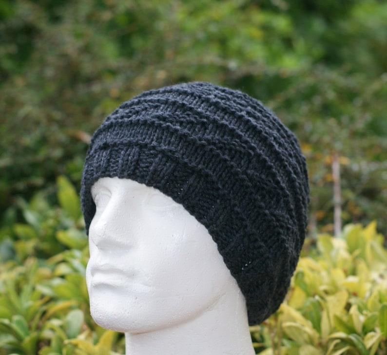 a98182ce694 Men s Cashmere Hat Silk Cashmere Gray Hat Charcoal