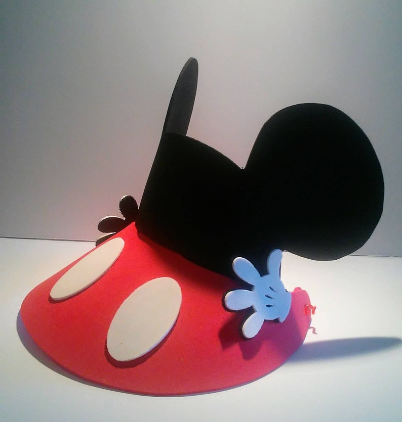 Mickey Mouse and Friends Hat  Eva Foam Visors  Mickey Mouse  9b23f4093488