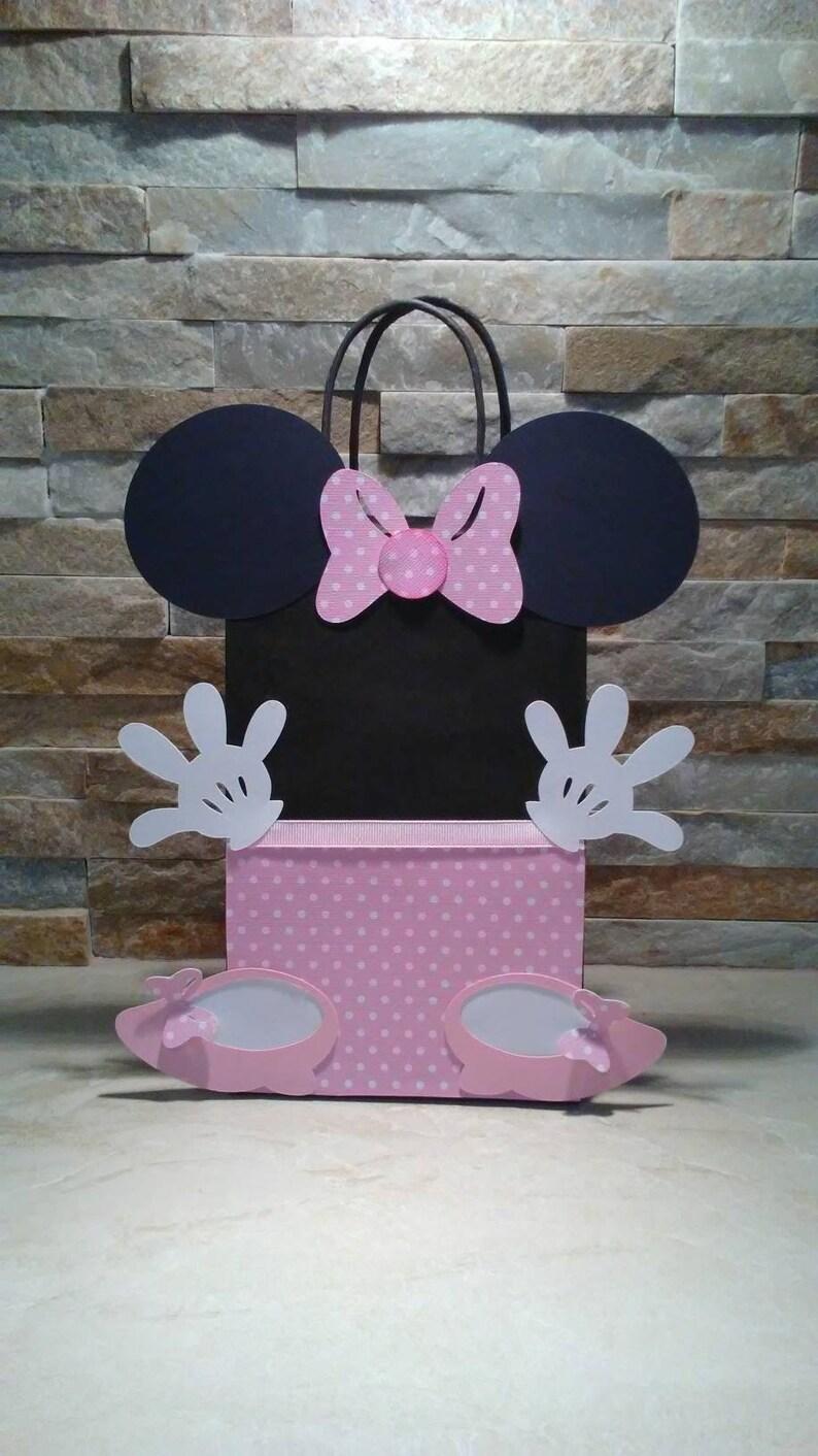 6a40b458a Minnie Mouse Bolsitas para Dulces/ Minnie Mouse Cotillon | Etsy