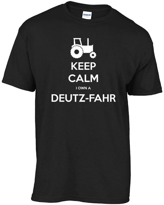 Houd rust ik heb zelf een Deutz Fahr t shirt.   Etsy