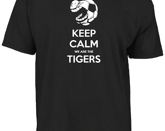 Hull City - Keep calm we are the Tigers t- shirt