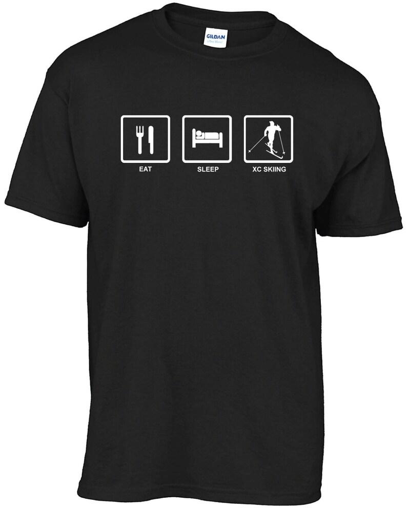 ed75984ea26d2 Manger dormir t-shirt SKI XC