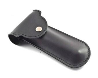 Safety Razor Case 100% BullHide Leather