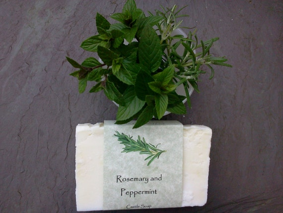 Rosemary and Peppermint Castile Soap