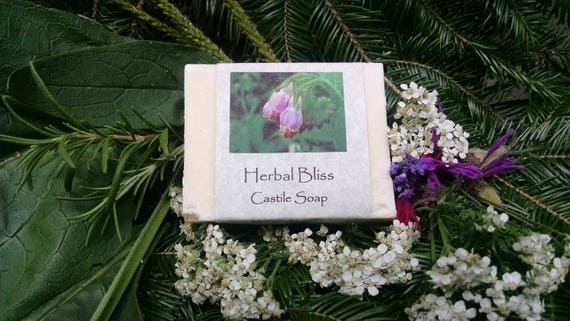 Herbal Bliss Castile Soap