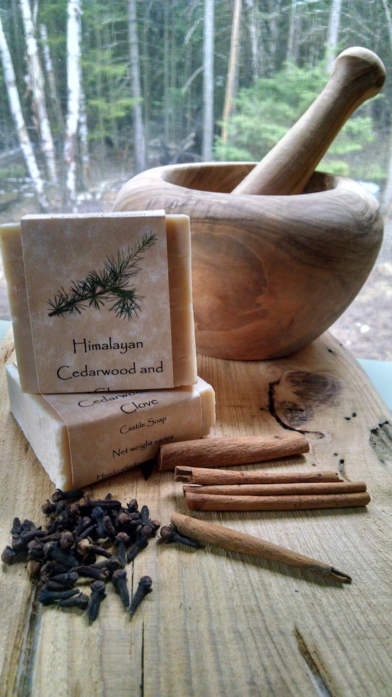 Himalayan Cedarwood and Clove Castile Soap