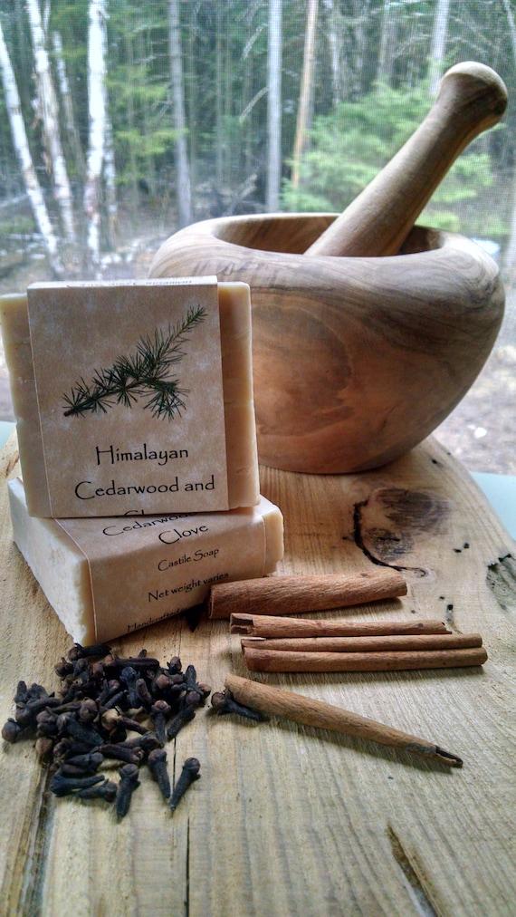 Himalayan Cedarwood and Clove Castile Soap