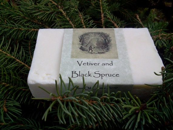 Vetiver and Black Spruce Castile Soap