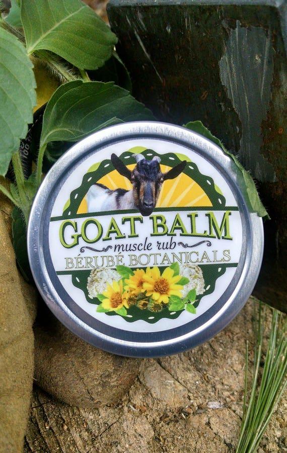Goat Balm Muscle Rub