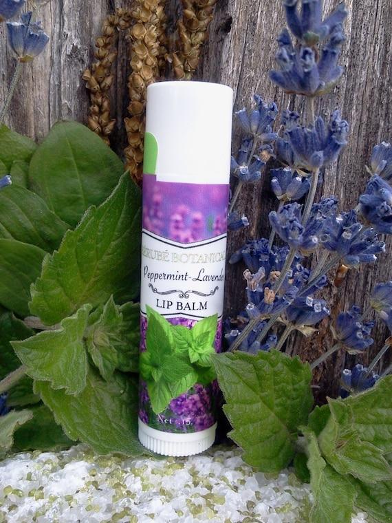Peppermint Lavender Lip Balm