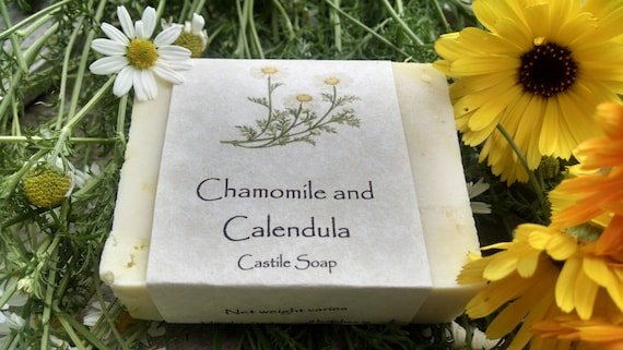 Chamomile and Calendula Castile Soap