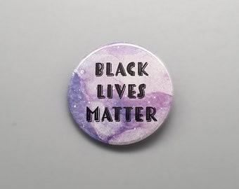 "Black Lives Matter 1.5"" pin back button/badge"
