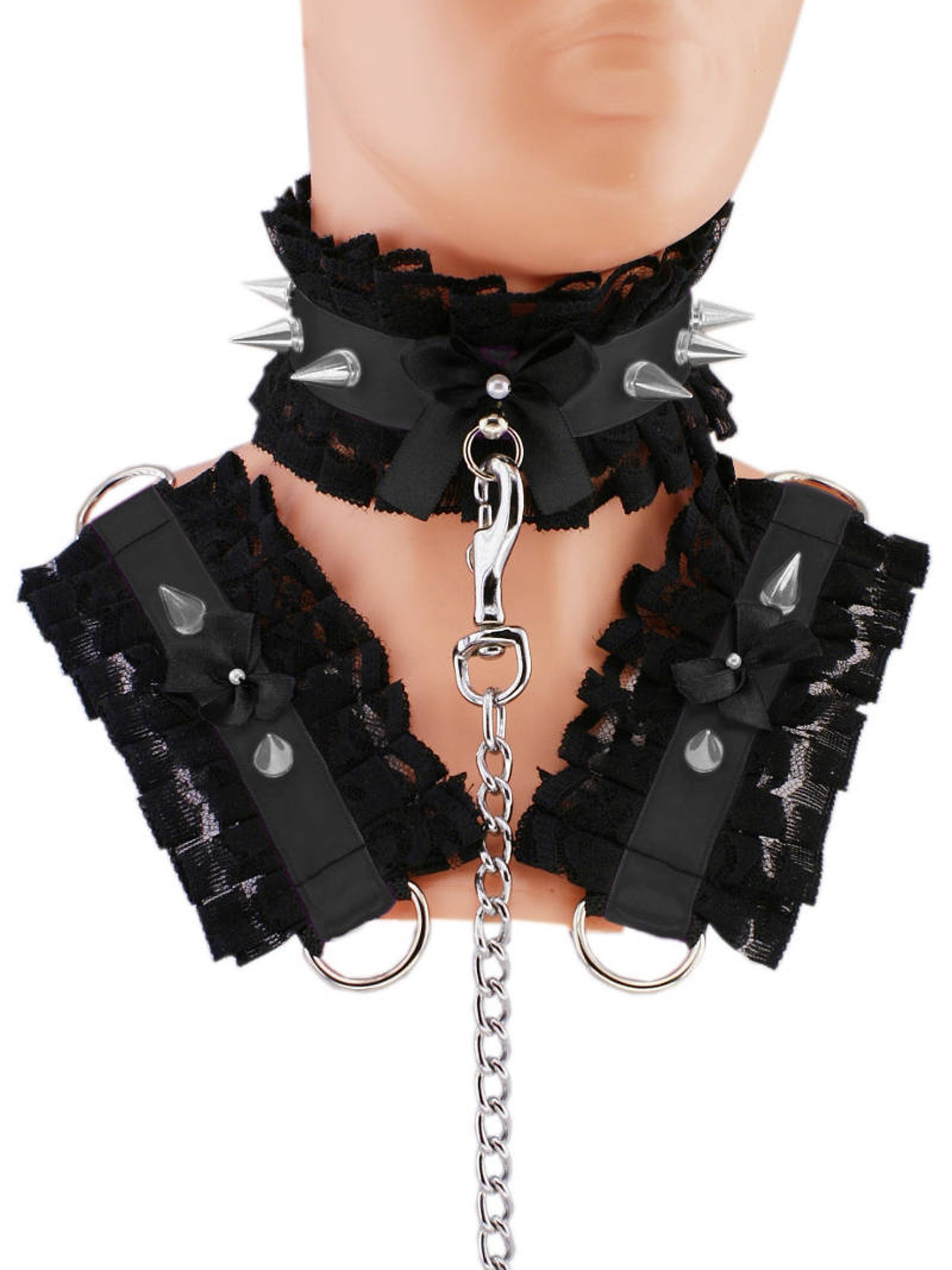 Collars and cuffs bdsm