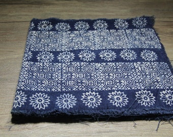 16 Ft New Hmong Batik fabric from northern Thailand