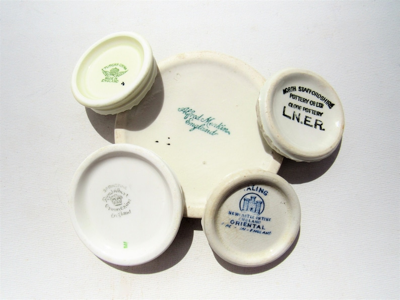 Mudlarked China Curios! Circular bases from vintage china cups, found in a  harbour and bearing interesting makers marks