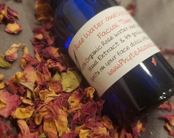Organic Rose and Witch Hazel Facial Toner