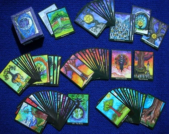 The Tarot of Trees THIRD EDITION - 80 Card Deck