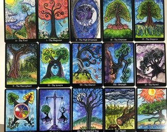 Small Tarot of Trees 5th edition - 80 Card Deck