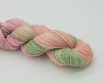Hand Dyed Superwash Merino/Nylon DK yarn