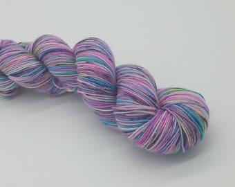 Hand Dyed Superwash Merino Wool Sock Yarn- Epic Fail, Merino 2 ply