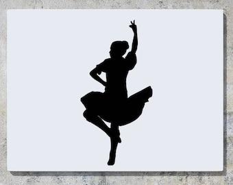 Highland Dancer Etsy