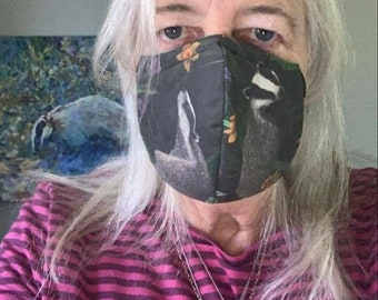 Badger Badger Face Masks!