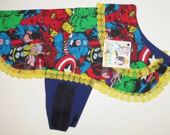 Medium Dog Marvel/Avengers Inspired Jacket/Costume With Lace Dog Costumes Dog Jackets Dog Clothing & Marvel dog costume | Etsy