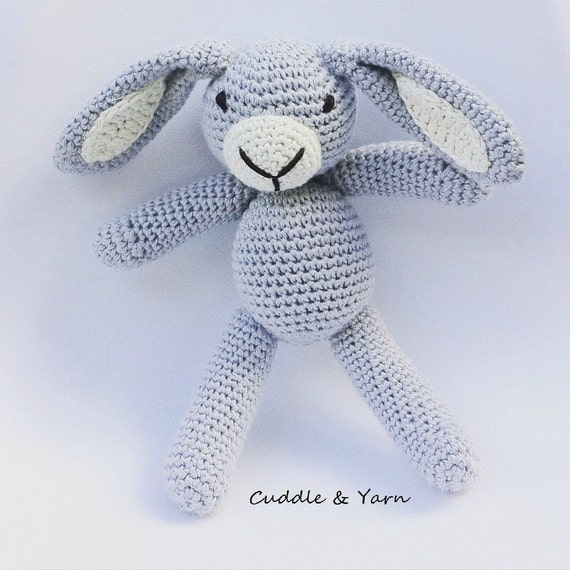 Baby Bunny Comforter Crochet Pattern | AllFreeCrochet.com | 570x570
