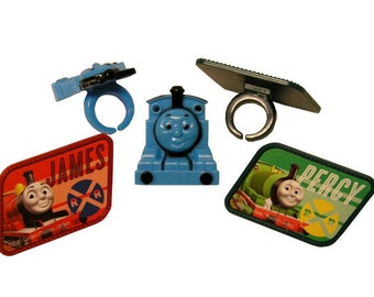 Thomas the Tank Plastic Rings