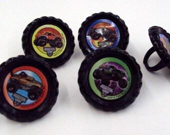 Monster Jam Rings
