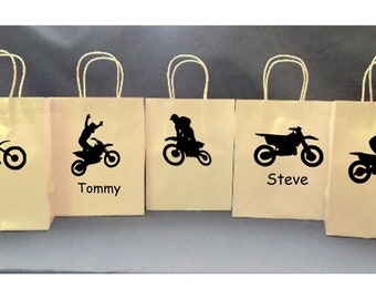 Motocross Party Bags