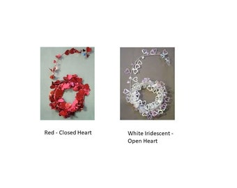 Heart Garland, Wire Garland with Hearts