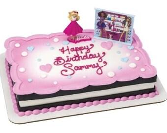 Barbie Cake Decorating Kit