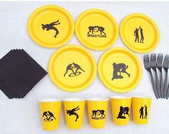 Wrestling Tableware Set for 5 People