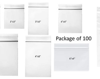Zipper Bags, Clear Poly Bags, Recloseable Clear Poly Bags