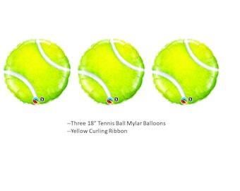Tennis Ball Balloons