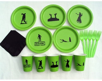 Zombie Tableware Set for 5 People