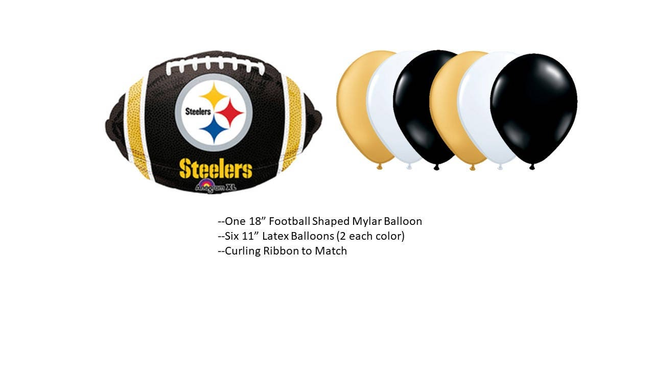 Pittsburgh Steelers Balloons | Etsy