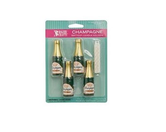 Champagne Bottle Candles, Champagne Candles