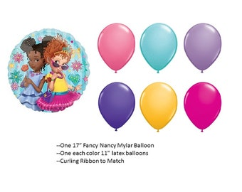 Fancy Nancy Balloons