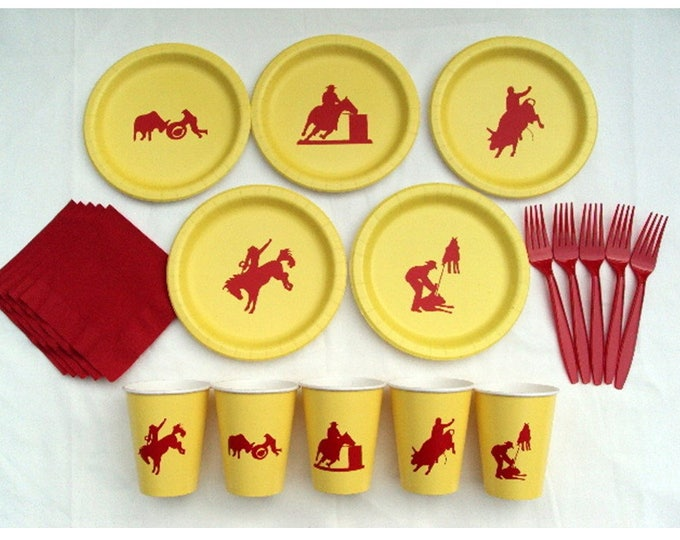 Rodeo Tableware Set for 5 People