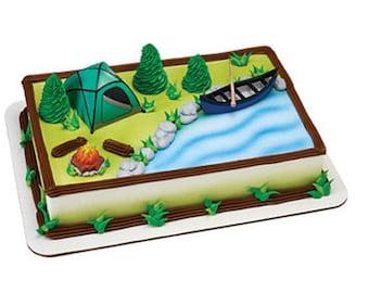 Camping Cake Decorating Kit