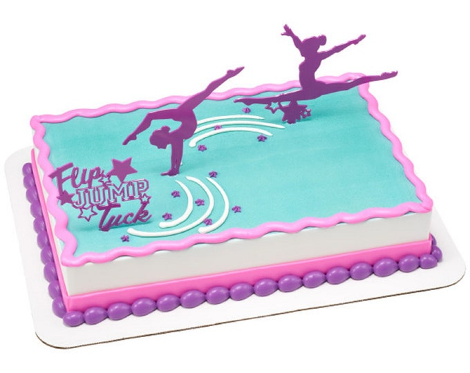 Gymnastics Cake Decorating Kit