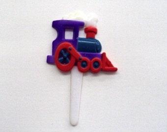 Train Cupcake Picks - 22 count
