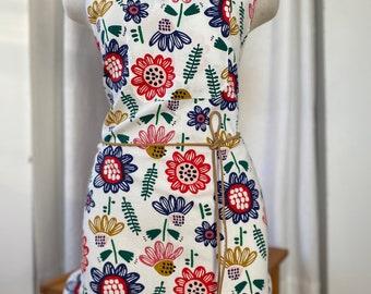 Colorful apron
