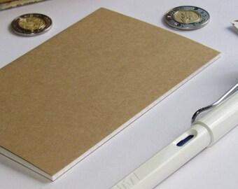 Travelers Notebook Insert--Kraft Paper Notebook Journal Bullet Journal A5 Cahier B6 A6 Personal Field Notes Passport A7