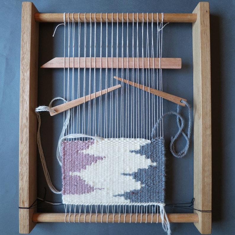 c82b729822 Weaving Loom Kit Weaving frame shed stick yarn needle
