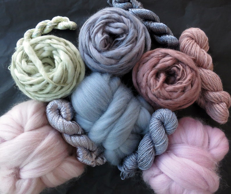 Yarn Pack For Knitting Crochet Weaving Or Felting Wool Etsy