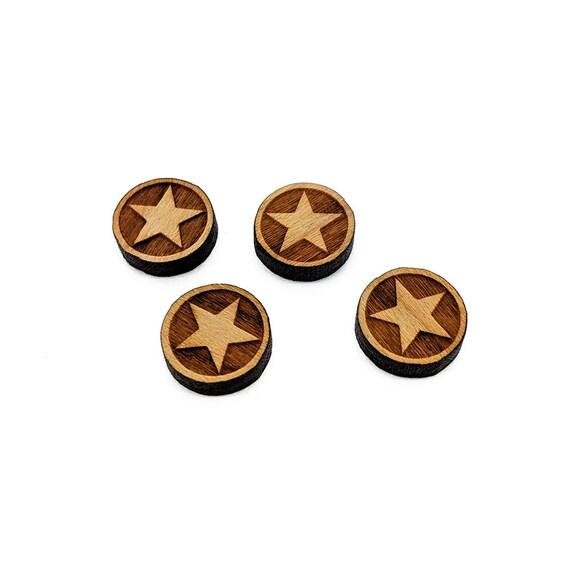 20pcs 16mm Round Wood Cabochon,Mini Wood Shape,Laser Cut Wood,Earring Supplies,Mini Wooden Shapes,Handmade Image Wood Cut Cabochon,2827-2831